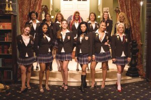 Charm School Cast Dressed in Uniform